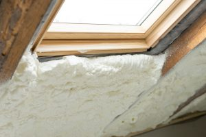 uszczelnione okno dachowe
