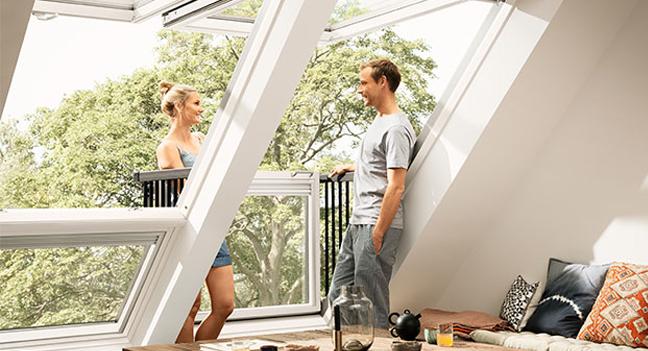 nowoczesne okno balkonowe